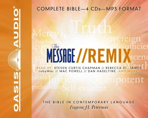 Message Remix Bible-MS 9781598594522