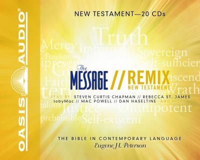 Message Remix New Testament-MS 9781598594584