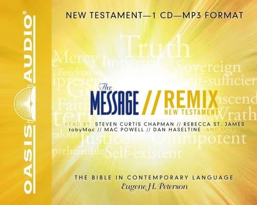 Message Remix New Testament-MS