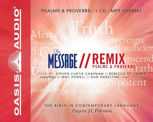 Message Remix Psalms & Proverbs-MS: The Bible in Contemporary Language