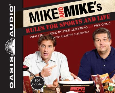 Mike and Mike's Rules for Sports and Life 9781598597127