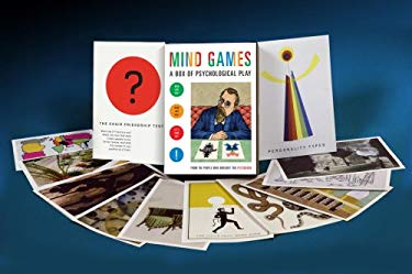 Mind Games: A Box of Psychological Play [With Three Card SetsWith PosterWith Three Booklets] 9781590306406