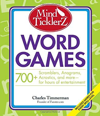 Mind Ticklerz Word Games: 700+ Scramblers, Anagrams, Acrostics, and More - For Hours of Entertainment
