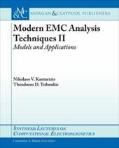 Modern EMC Analysis Techniques, Part II: Models and Applications