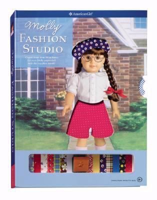 Molly Fashion Studio [With Reusable Accessory Stickers/Reusable Sticky Dots and Stamp and Stencils and Design Book and 4 9781593693671