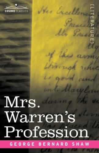 Mrs. Warren's Profession 9781596059801