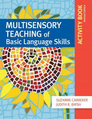 Multisensory Teaching of Basic Language Skills Activity Book 9781598572094