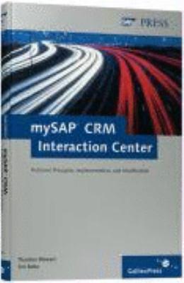 MySAP CRM Interaction Center 9781592290673
