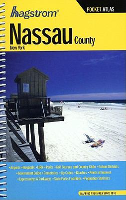 Nassau County, New York Pocket Atlas 9781592450626