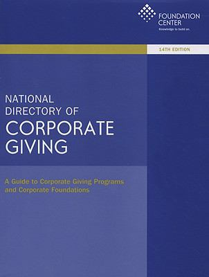 National Directory of Corporate Giving 9781595421975