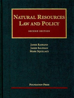 Natural Resources Law and Policy 9781599413440