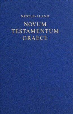Nestle-Aland Novum Testamentum Graece-FL-Large Print 9781598561739
