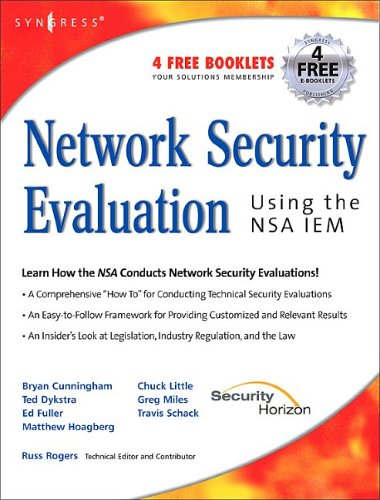 Network Security Evaluation: Using the NSA IEM 9781597490351