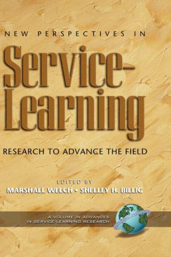 New Perspectives in Service-Learning: Research to Advance the Field (Hc) 9781593111588