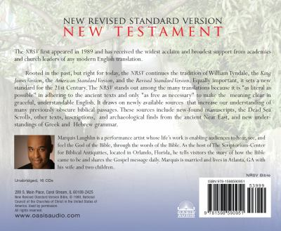 New Testament-NRSV 9781598590951