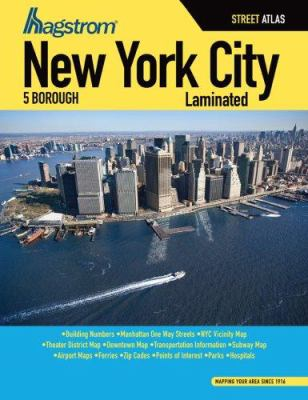 New York City 5 Borough Street Atlas 9781592459124