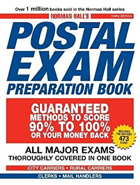 Norman Hall's Postal Exam Preparation Book: All Major Exams Thoroughly Covered in One Book 9781598698534