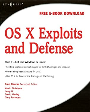 OS X Exploits and Defense 9781597492546