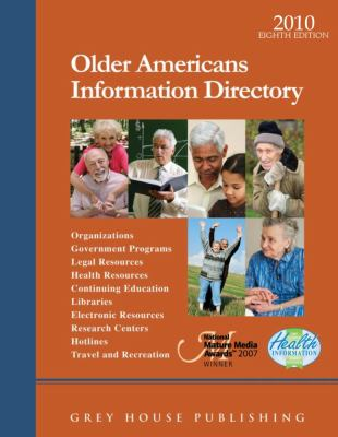 Older Americans Information Directory 9781592375431