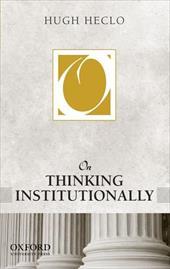On Thinking Institutionally