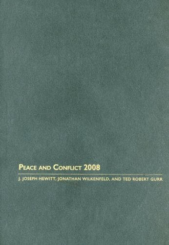 Peace and Conflict 2008 9781594514005