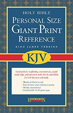 Personal Size Giant Print Reference Bible-KJV 9781598560954
