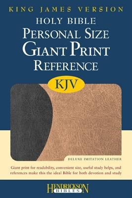 Personal Size Giant Print Reference Bible-KJV 9781598563733