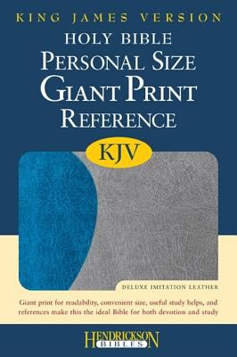 Personal Size Giant Print Reference Bible-KJV 9781598563887