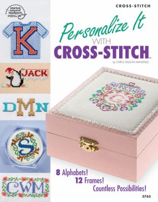 Personalize It with Cross-Stitch 9781590122136