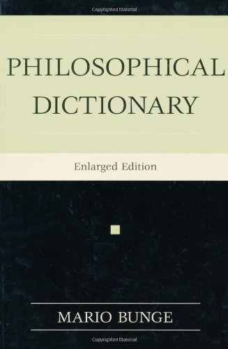 Philosophical Dictionary 9781591020370