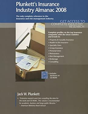 Plunkett's Insurance Industry Almanac: The Only Comprehensive Guide to the Insurance Industry [With CDROM] 9781593920975