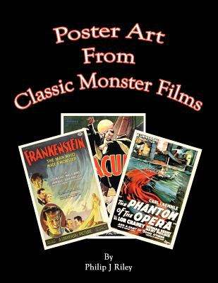 Poster Art from the Classic Monster Films 9781593934866