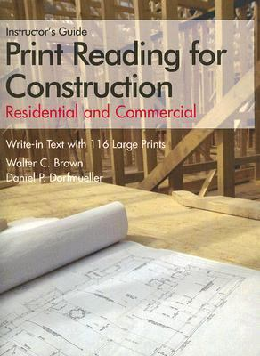 Print Reading for Construction Instructor's Guide: Residential and Commercial