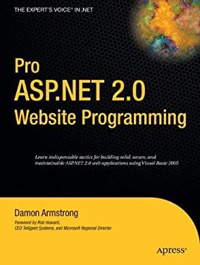 Image of Pro ASP.Net 2.0 Website Programming