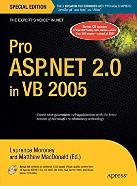 Pro ASP.Net 2.0 in VB 2005 [With CD] 9781590597767