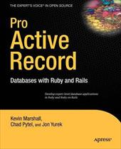 Pro Active Record: Databases with Ruby and Rails 7241633