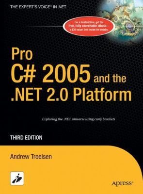 Pro C# 2005 and the .Net 2.0 Platform 9781590594193