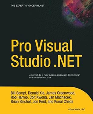 Pro Visual Studio.Net 9781590593684