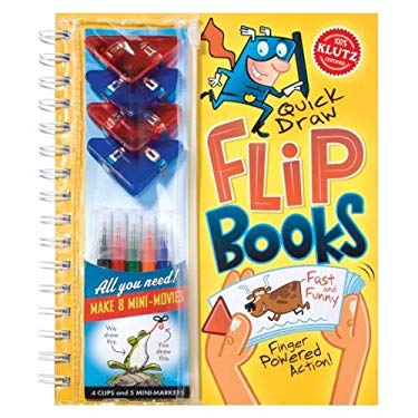 Quick Draw Flip Books [With 4 ClipsWith 5 Mini-MarkersWith 8 Flip Books] 9781591745112