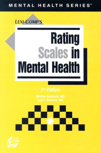 Rating Scales in Mental Health 9781591950523