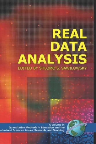 Real Data Analysis (Hc) 9781593115654