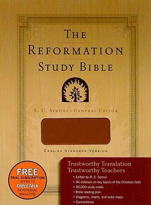 Reformation Study Bible-ESV 9781596382077