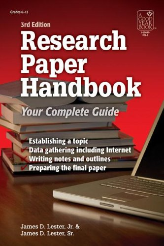 Research Paper Handbook: Your Complete Guide 9781596470767