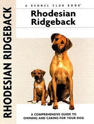 Rhodesian Ridgeback 9781593782283
