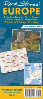 Rick Steves' Europe Planning Map