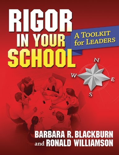 Rigor in Your School: A Toolkit for Leaders 9781596671768