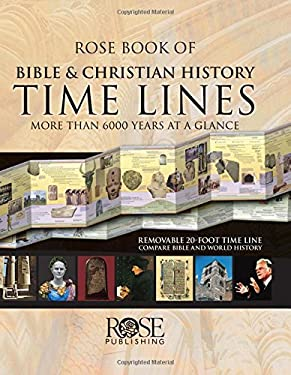 Rose Book of Bible & Christian History Time Lines: More Than 6000 Years at a Glance 9781596360846