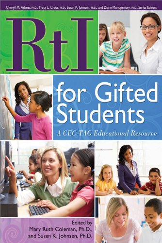 Rti for Gifted Students: A Cec-Tag Educational Resource 9781593634889