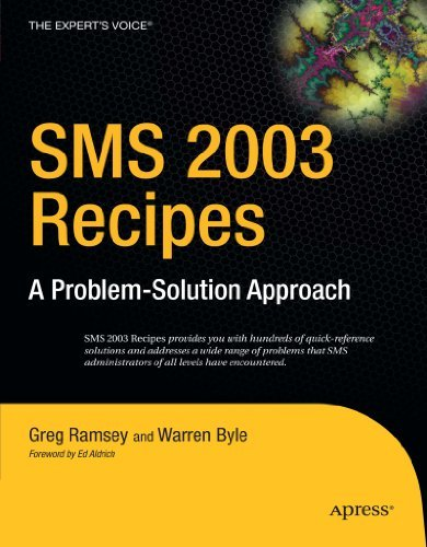 SMS 2003 Recipes: A Problem-Solution Approach 9781590597125