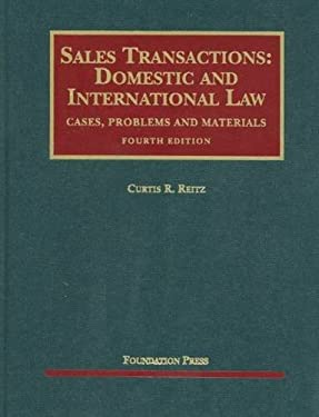 Sales Transactions: Domestic and International Law 9781599418872